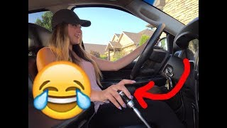 Download GIRLFRIEND LEARNS HOW TO DRIVE A MANUAL CUMMINS! Video