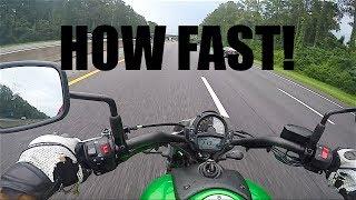 Download KAWASAKI VULCAN 650 TOP SPEED | REVIEW | MOTOVLOG Video