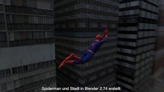 Download Blender Spiderman 2 Video