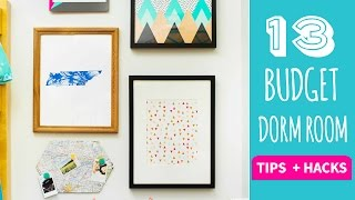 Download 13 Tips and Hacks for Dorm Decor on a Budget - HGTV Handmade Video
