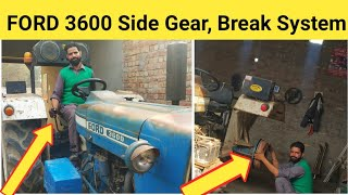 Download Ford 3600 side gear and Break system modification || modified ford Tractor 2019 Video