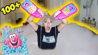 Download 100+ CUPS OF BUBBLE BATH! MOST SATISFYING BATH EVER! | NICOLE SKYES Video