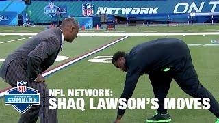 Download Shaq Lawson (Clemson, DE) Shows off His Favorite Pass Rush Moves | 2016 NFL Combine Primetime Video