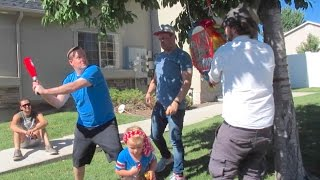 Download HILARIOUS BIRTHDAY PARTY PINATA FAIL! 4 YEAR OLD BIRTHDAY PARTY | DYCHES FAM Video