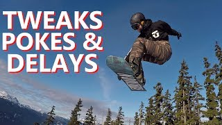 Download Snowboarding Trick Progression with Tweaks, Pokes & Delays Video