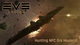 Download Eve Online - Hunting NPC Ore Haulers! Video