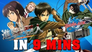 Download Attack on Titan IN 9 MINUTES Video
