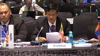 Download Myanmar Country Statement, FAO APRC 34, 2018 Video