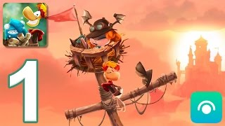 Download Rayman Adventures - Gameplay Walkthrough Part 1 - Adventures 1-2 (iOS, Android) Video