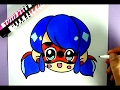 Download DIY : KAWAII - NIEDLICHE MIRACULOUS LADYBUG SELBER MALEN Video