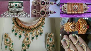 Download All Rajputi Jewellery Set | All Rajputi Aad Baju Punach Haar Hathfool Rakhdi Shishfool | Golden Set Video