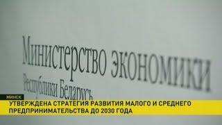 Download В Беларуси утвердили новую стратегию развития малого и среднего бизнеса Video