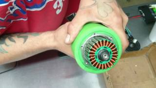 Download Hub Motor 36v 350w Genesis Koowheel Outer Bearing and Cover Video