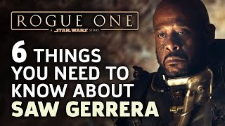 Download Star Wars: Rogue One - 6 Things You Need to Know about Saw Gerrera Video