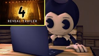 Download ″Bendy and the Ink Machine: Chapter Four″ - Reveal Trailer 2018 | BENDY REACTION Video
