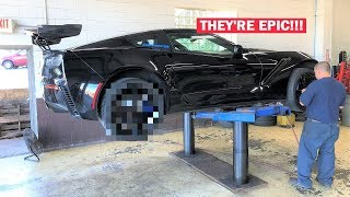 Download NEW INSANE 2 PIECE DIRECTIONAL WHEELS FOR MY ZR1!!! (BEST WHEELS EVER!) Video
