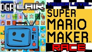 Download Darby vs Lair vs Dave | MARIO MAKER RACE | Viewer Levels Video