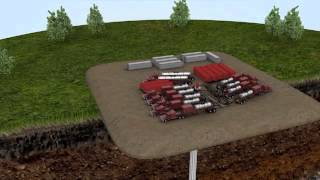 Download Animation of Hydraulic Fracturing (fracking) Video