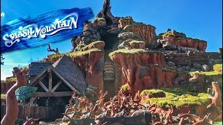 Download Splash Mountain Testing With No Water | Magic Kingdom- Disney World Video