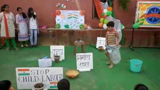 Download Stop child labour fancy dress prize winning performance Video
