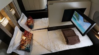 Download Etihad A380 First Class Apartment Full Video in-flight experience Video