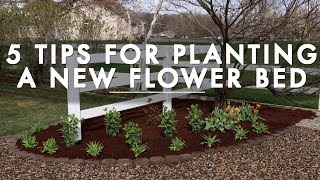 Download 5 Tips for Planting a New Flower Bed // Garden Answer Video