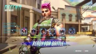 Download Overwatch competitive Zarya gameplay 50+ eliminations Video