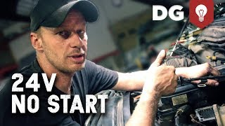 Download No Start in 24v Cummins Common Rail - How To Diagnose & Repair Video