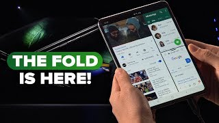 Download Galaxy Fold: Watch Samsung unveil the foldable phone Video