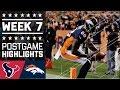 Download Texans vs. Broncos | NFL Week 7 Game Highlights Video
