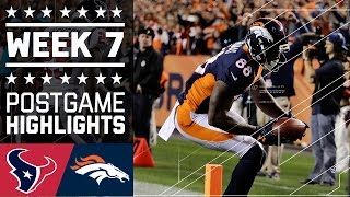 Download Texans vs. Broncos | NFL Week 7 Game Highlights Video