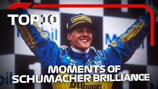 Download Top 10 Moments of Schumacher Brilliance Video