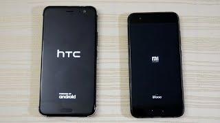 Download HTC U11 vs Xiaomi Mi6 - Speed Test! (4K) Video