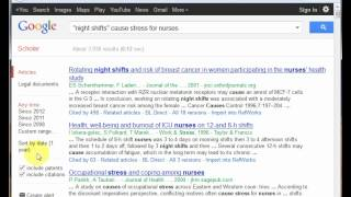 Download Google Scholar for journal article citations and occasional full text Video
