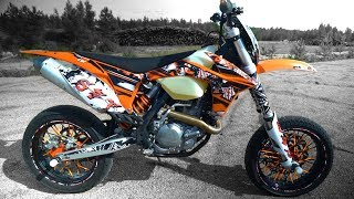 Download KTM EXC 450 Supermoto Test ride & Tuning Video