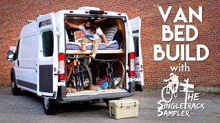 Download DIY Camper Van Conversion Bed Build, Converts To A Couch! #VANLIFE Video