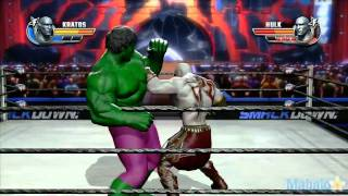 Download WWE All Stars Grudge Match - Kratos Vs. The Hulk Video
