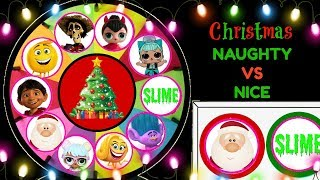 Download Christmas Naughty Or Nice Spinning Wheel Game Surprise Toys Video