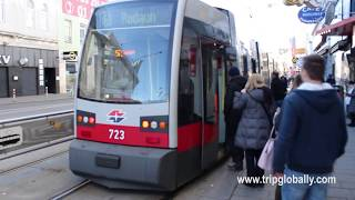 Download Trams in Vienna, Austria | Public transport system in Vienna Video