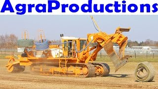 Download Farm drainage tile/plow machine - Mastenbroek - Laying field drainage - 366 horsepower - Video