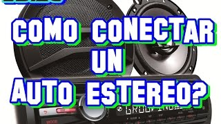 Download Como conectar un Autoestereo | Bien Explicado Full HD Video