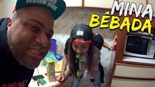 Download MINA BÊBADA NO ROLÊ Video