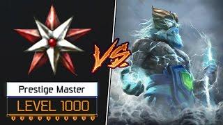Download Zeus Vs Level 1000 Prestige Master! Trash Talker in BO3 SnD! Video