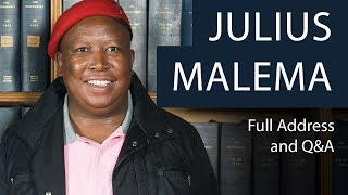 Download Julius Malema | Full Address and Q&A | Oxford Union Video