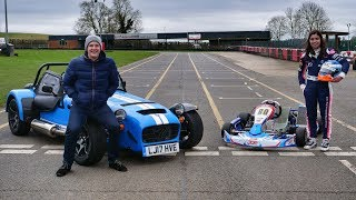 Download Caterham 620S vs Go-Kart [feat. Jamie Chadwick] Video