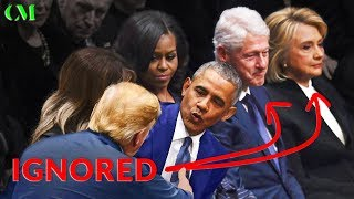 Download Trump at The Bush Funeral – Here's What REALLY Happened Video