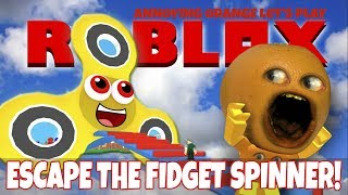 Download Annoying Orange Plays - Roblox: Escape The Fidget Spinner OBBY Video