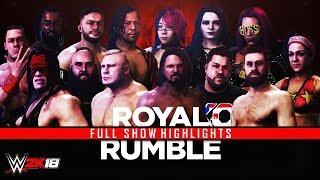 Download WWE 2K18 Royal Rumble 2018 Full Show Highlights ! - Predictions Video
