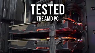 Download Benchmarking The AMD PC! Did it Explode? Part 2 Video