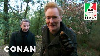 Download Conan & Jordan Schlansky Go Truffle Hunting - CONAN on TBS Video